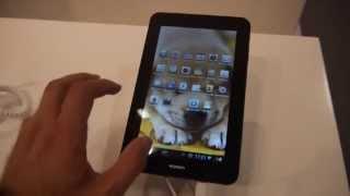 Huawei MediaPad 7 Vogue Tablet Hands On