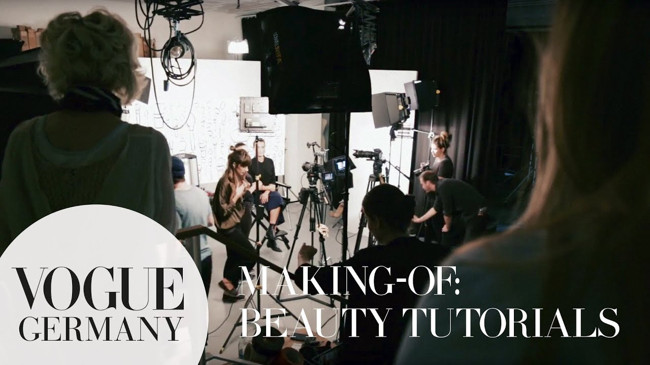 Making-Of VOGUE Beauty Tutorials | VOGUE Behind the Scenes