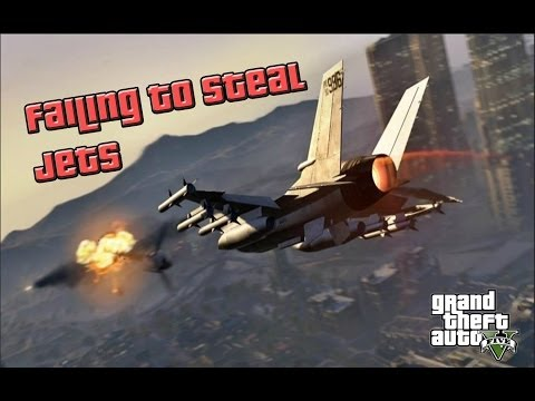 GTA 5 Online Failed Attempts to Steal Jets