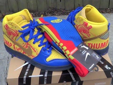 hot sale online db00b d1b83 Nike SB 2012 Doernbecher Dunk High Review