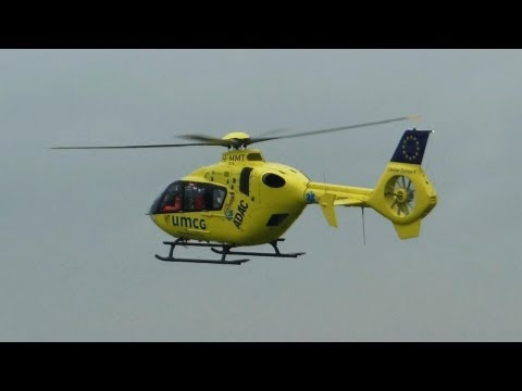 Air Ambulance ► Eurocopter EC135 P2+ ✈ Groningen Airport Oostwold, 20-05-2013