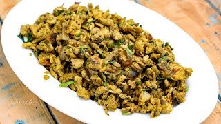 Spicy Indian Scrambled Egg | Egg Podimas | Anda Bhurji