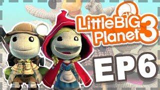 兩兩作伴!考驗情侶默契的時候到了XD  ➲  小小大星球3 LittleBigPlanet 3