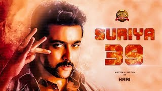Breaking: Suriya's Next Film Director and Producer   Suriya 39   TT 350