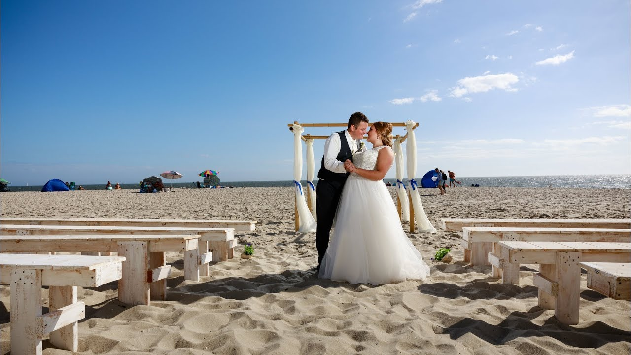 Fall Beach Wedding In Cape May Nj Wedding Video