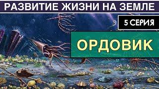 ОРДОВИКСКИЙ ПЕРИОД. Развитие жизни на Земле. 5 серия   Великая Радиация и Великое Вымирание