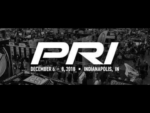 PRI PERFORMANCE RACING INDUSTRY - INDIANAPOLIS 6 - 8TH 2018 VEHICLE AND EVENT COVERAGE