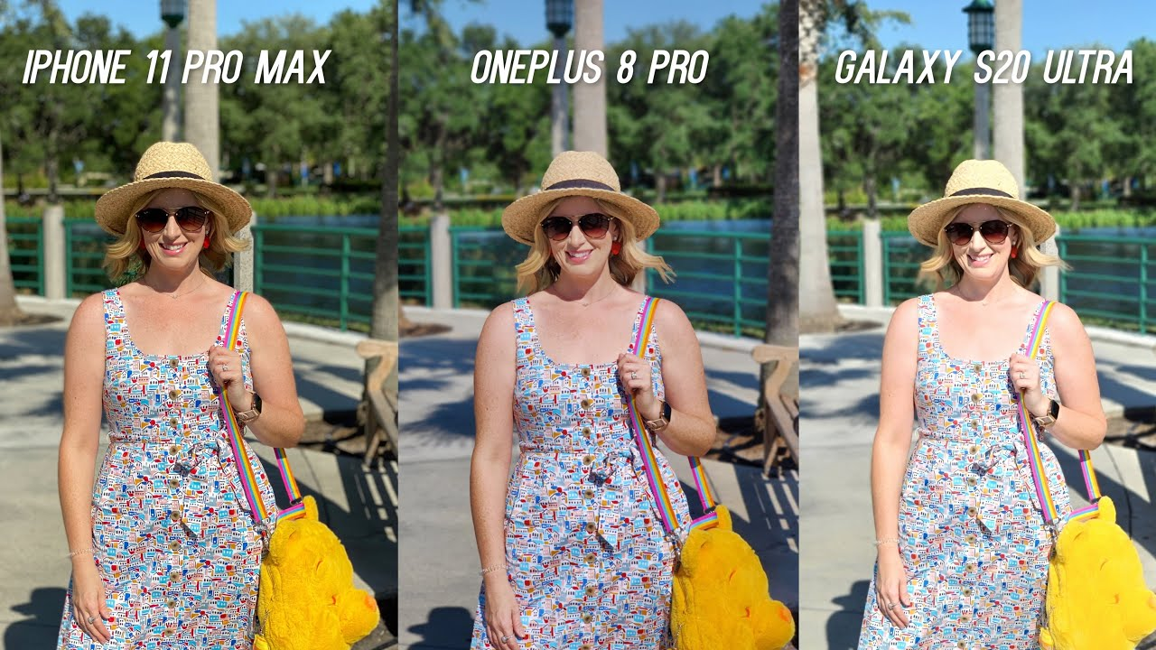OnePlus 8 Pro vs Galaxy S20 Ultra vs iPhone 11 Pro Max Camera Test (After Update)