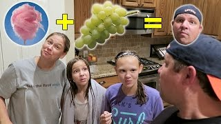 COTTON CANDY GRAPES! NO REALLY COTTON CANDY GRAPES!