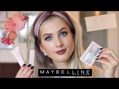 GIGI HADID x MAYBELLINE 💄 First Impressions & Makeup Look | Sarah Rebecca