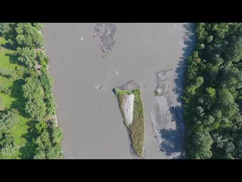 ПОЛЁТЫ (Flying). Река Терек, КБР. 07.07.2019г.