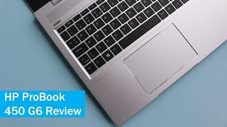 HP ProBook 450 G6 Review