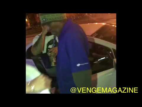 ASAP Mob Founder ASAP ILLZ Passing Out Defective T Shirts To The Homeless In NYC
