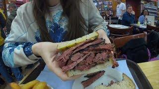 FOOD REVIEW miglior panino di sempre 22$ pastrami sandwich a New York @Kat