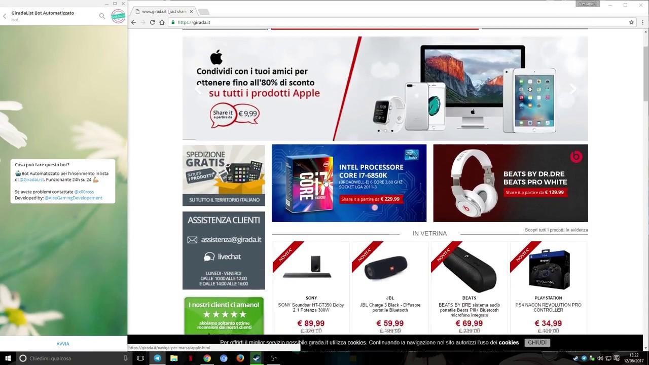 d135dd0445 Come acquistare su Girada.it - Guida GiradaList - YouTube