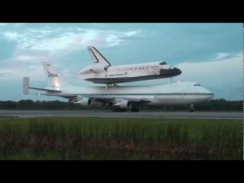 Endeavour Final Takeoff From KSC on SCA