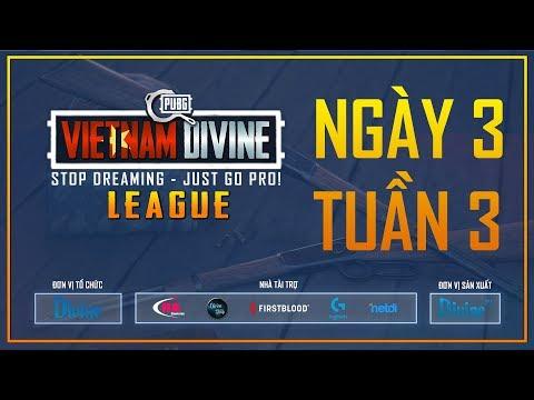 Divine League: Master| Tuần 3 | Caster: Tùng TT