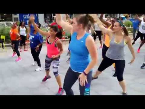 WORKOUT WEDNESDAY July 22 in Campus Martius Park, Downtown Detroit