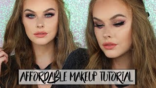 Affordable Makeup Tutorial! | (Voiceovers are hard lol)