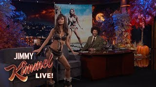Emily Ratajkowski on Halloween Costume Fail
