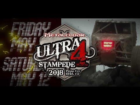 Metalcloak Ultra4 Stampede 2018 Promotional Video