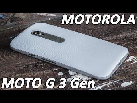 Motorola Moto G 3Gen (2015) подробный обзор от FERUMM.COM. Отличный бюджетник Moto G 3GEN