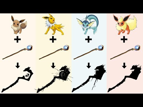 Pokemon as Weapons Requests #2: Eeveelutions - Eevee, Jolteon, Vaporeon, Flareon