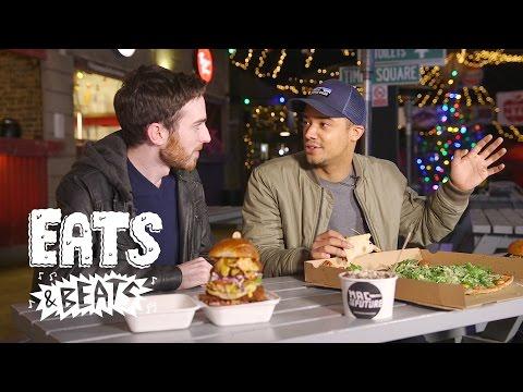 Eats & Beats Taste Test: Raleigh Ritchie rates Brixton's best festive street food