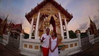 Свадебная фотосессия Вики и Дениса на Пхукете, отзыв