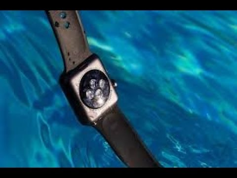 How To Eject Water💧 From Your Apple Watch ⌚️ Series 3 ✔️