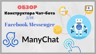 обзор конструктора чат-ботов Manychat для Facebook Messenger