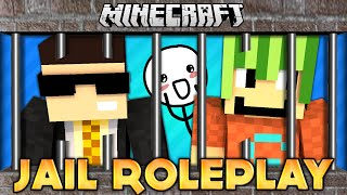 THE LAUGH MASTERS! MINECRAFT ROLEPLAY EP1: JAIL (Minecraft Cringefest: Roleplay w/ SimonHDS90)