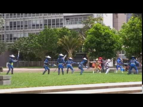 CHILLIN With TREV - NZ - Power Rangers In Aotea Square