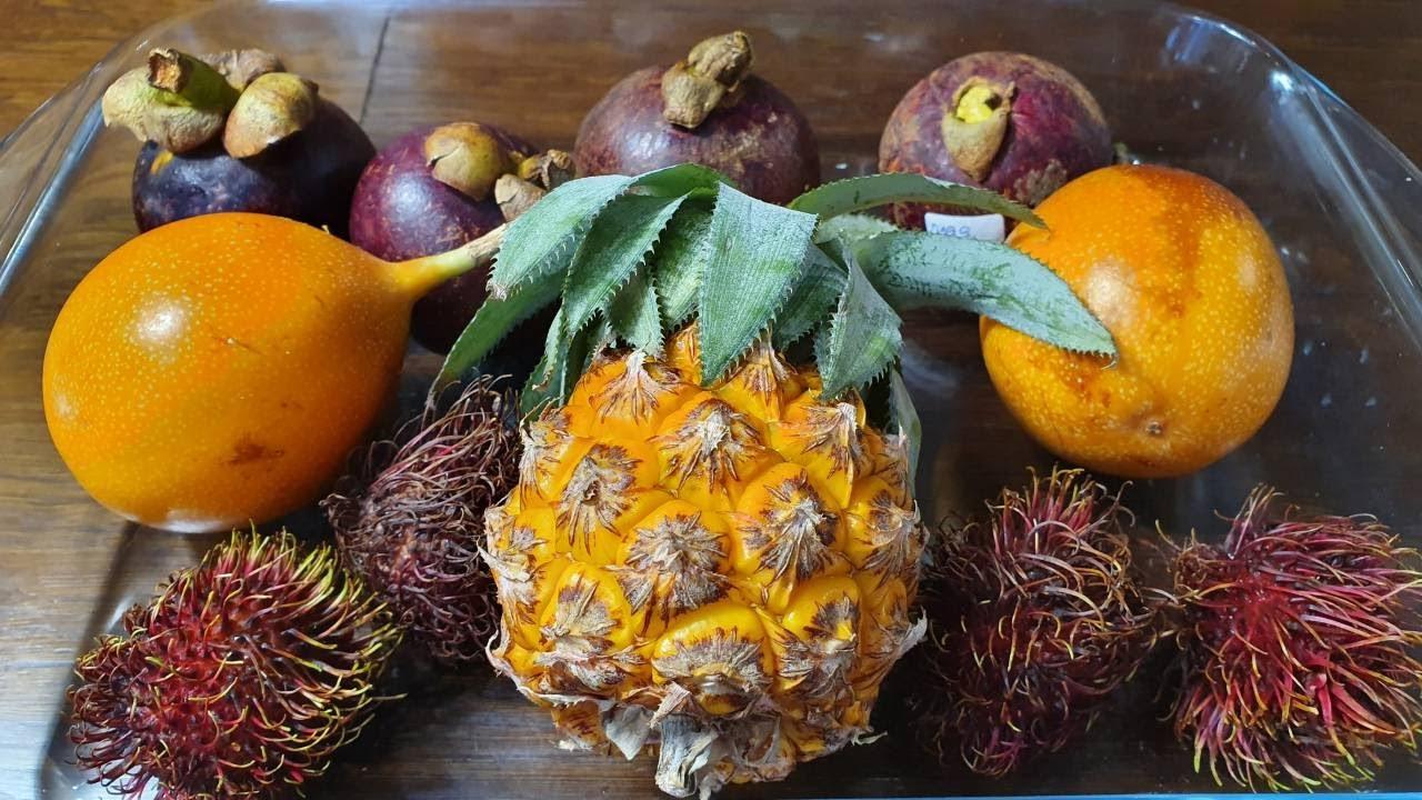 Влог : Пробуем экзотические фрукты /Переезд на Юг Новороссийск