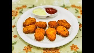 #cheesenuggets Spicy cheesy Nuggets | chicken Nuggets  | Made by Seema Shaikh