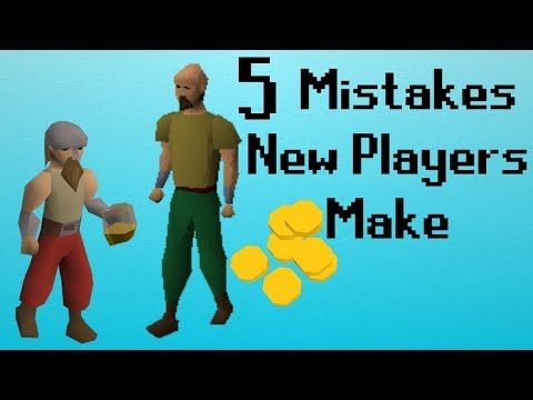 [OSRS] 5 Mistakes New Players Make
