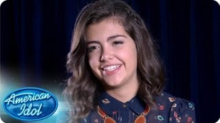 Isabel Gonzalez: Road To Hollywood Interviews - AMERICAN IDOL SEASON 12