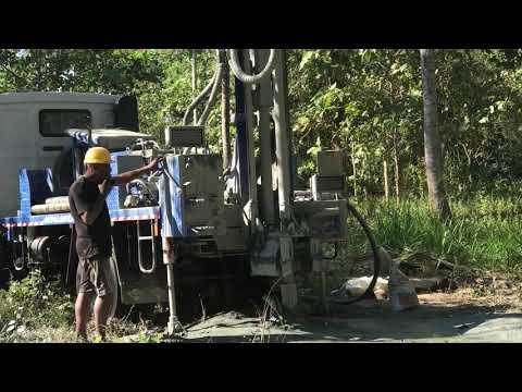 Drilling A tube well PRD 500T (Jayalanka Tube wells)