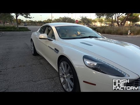 Aston Martin Rapide: Beautiful, But Not Practical