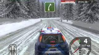 Colin McRae Rally 2005 - Sweden Stage 6 - Ford Focus Rally Car