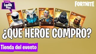 LAST DAYS EVENT STORE, WHAT HEROE SAP TO BUY? FORTNITE SAVE THE WORLD