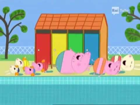 Peppa pig italiano la piscina di peppa nuovi episodi 2016 for Peppa in italiano