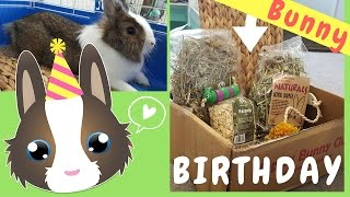 TALKING BIRTHDAY BUNNY |  #Cratejoy ❤ Happy Bunny Club UNBOXING