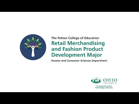 OHIO's Retail Merchandising Fashion Product Development Program
