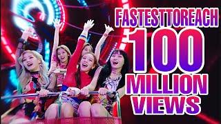 FASTEST K-POP GROUPS MUSIC VIDEOS TO REACH 100 MILLION VIEWS