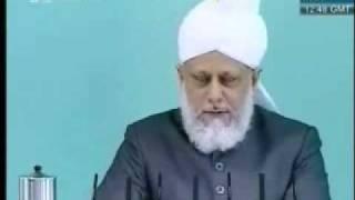 Проповедь Хазрата Мирзы Масрура Ахмада, (28-05-10) часть 4