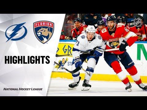 Lightning @ Panthers 10/05/19 Highlights