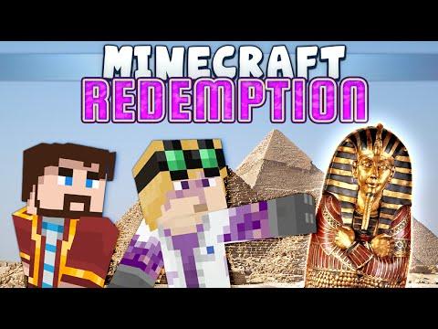 Видео, Minecraft - Redemption 2 - Egyptian Tomb