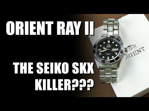 Orient Ray II - The Seiko SKX007 Killer?
