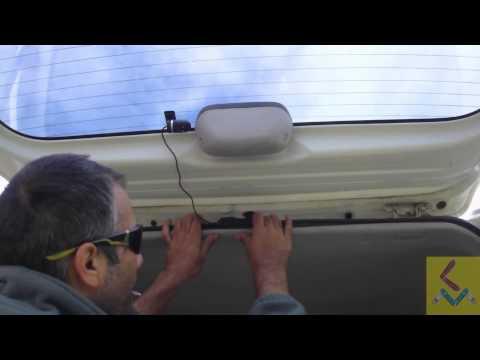 install a Dashcam Recorder- Response QV3844 (front and rear w/ GPS)  Mazda E2000